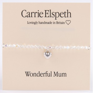 Carrie Elspeth Wonderful Mum Sentiment Bracelet