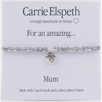 Carrie Elspeth For An Amazing Mum Sentiment Bracelet