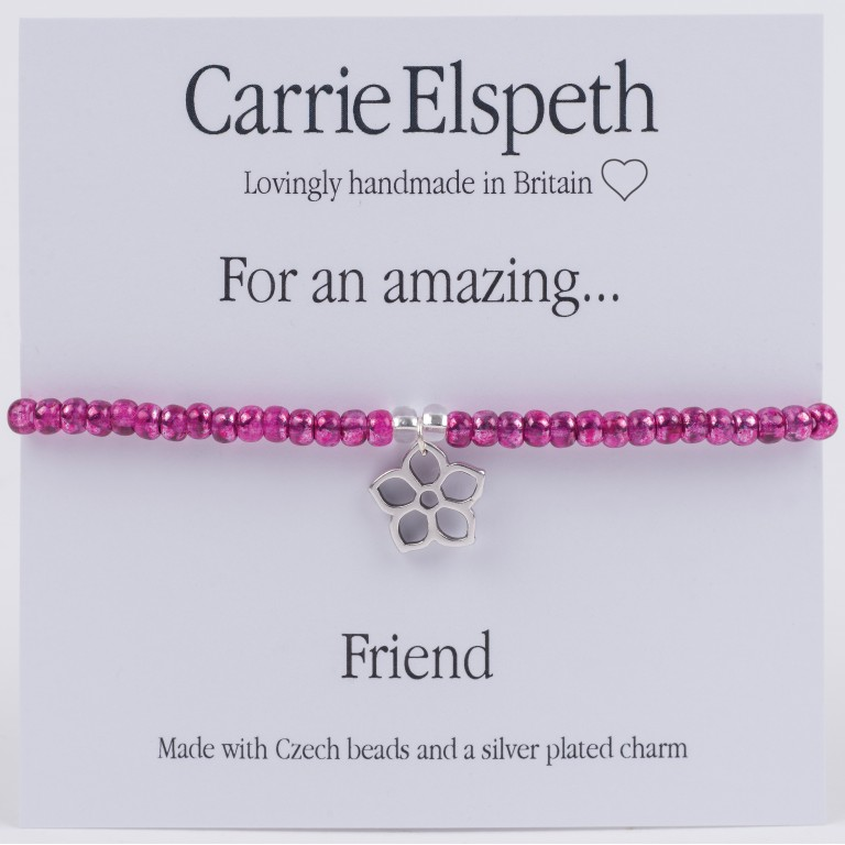 Carrie Elspeth For An Amazing Friend Sentiment Bracelet