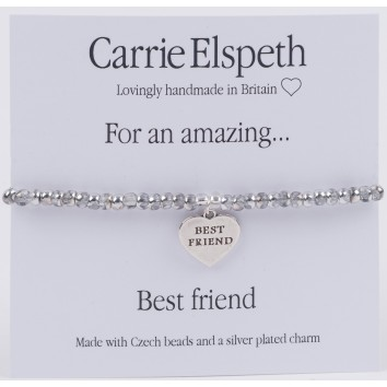 Carrie Elspeth For An Amazing Best Friend Sentiment Bracelet