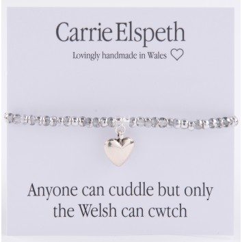 Carrie Elspeth Cwtch Sentiment Bracelet