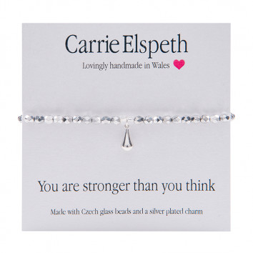 Carrie Elspeth You Are Stronger Than You Think Bracelet