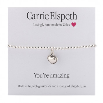 Carrie Elspeth You're Amazing Sentiment Bracelet