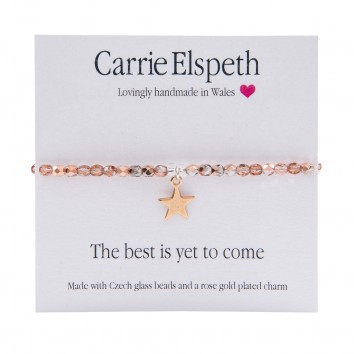 Carrie Elspeth The Best Is Yet To Come Sentiment Bracelet
