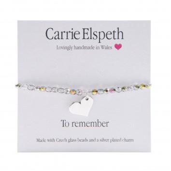 Carrie Elspeth To Remember Sentiment Bracelet