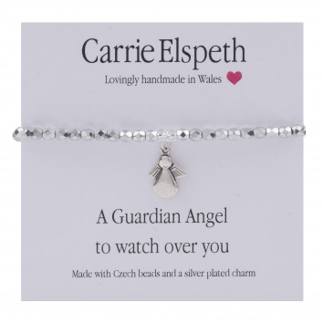 Carrie Elspeth A Guardian Angel To Watch Over You Bracelet