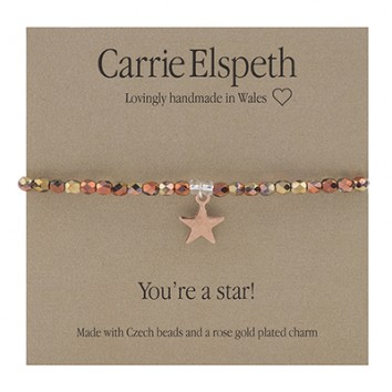 Carrie Elspeth You're A Star Sentiment Bracelet