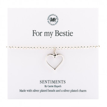 Carrie Elspeth For My Bestie Sentiment Bracelet