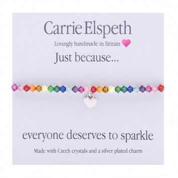 Carrie Elspeth Just Because Everyone Deserves To Sparkle