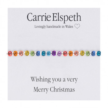 Carrie Elspeth Wishing You A Very Merry Christmas Bracelet