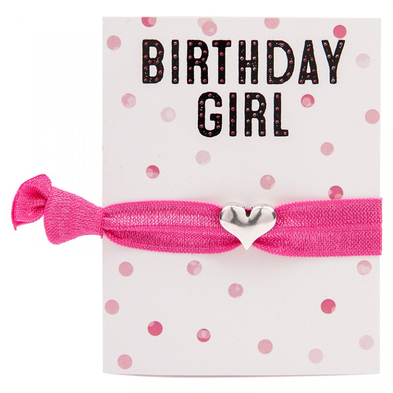 Carrie Elspeth Birthday Girl Greeting Card & MyColourband