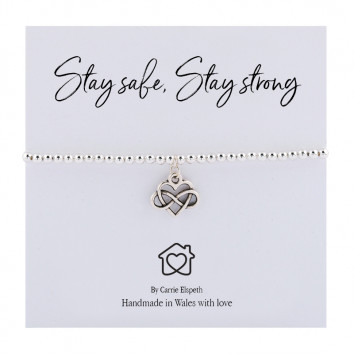 Carrie Elspeth Stay Strong Stay Safe Bracelet
