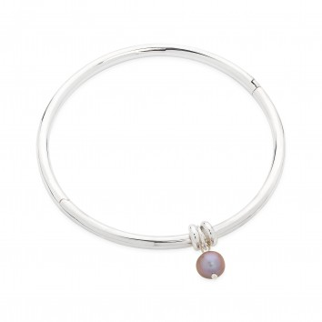 Claudia Bradby Essential Silver Bangle