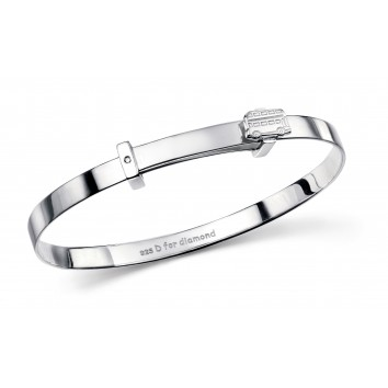 D for Diamond London Bus Bangle