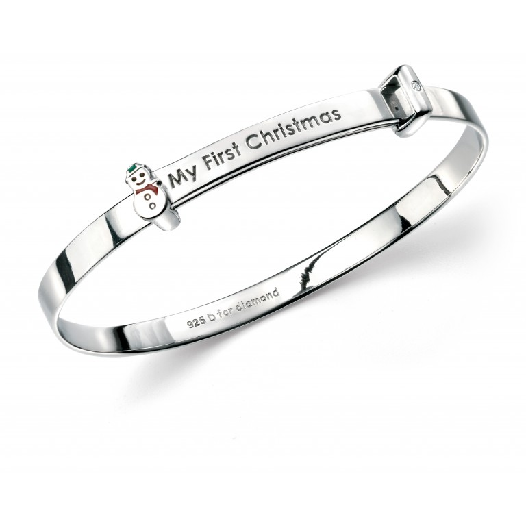 D for Diamond My First Christmas Bangle