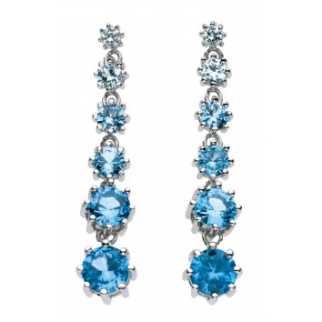 Dew Dr Sapphire Ombre Drop Earrings