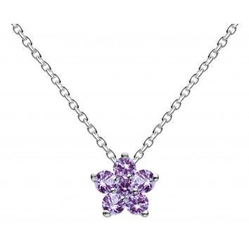 Dew Dr Lavender Flower Necklace
