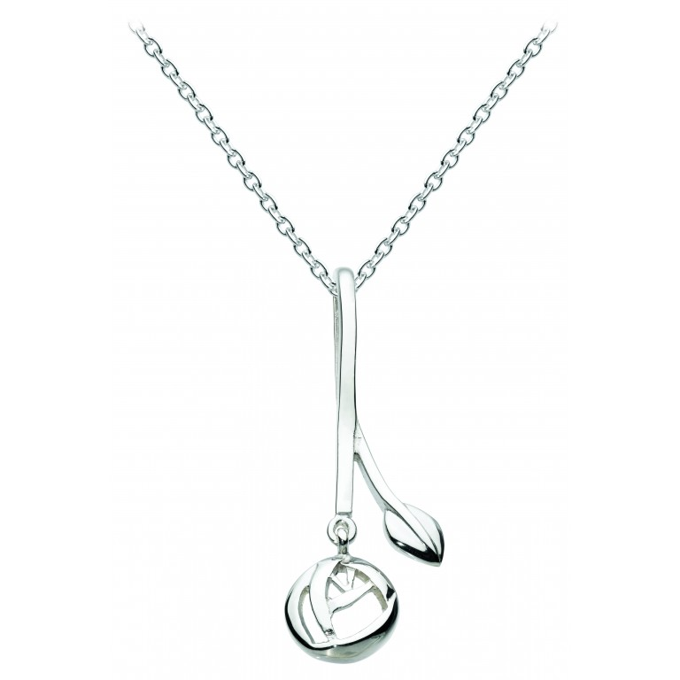 Heritage Dr Pendant Leaf and Rose Pendant