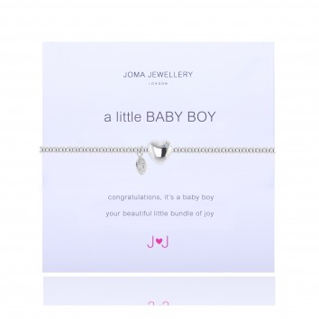 Joma Jewellery A Little Baby Boy Bracelet