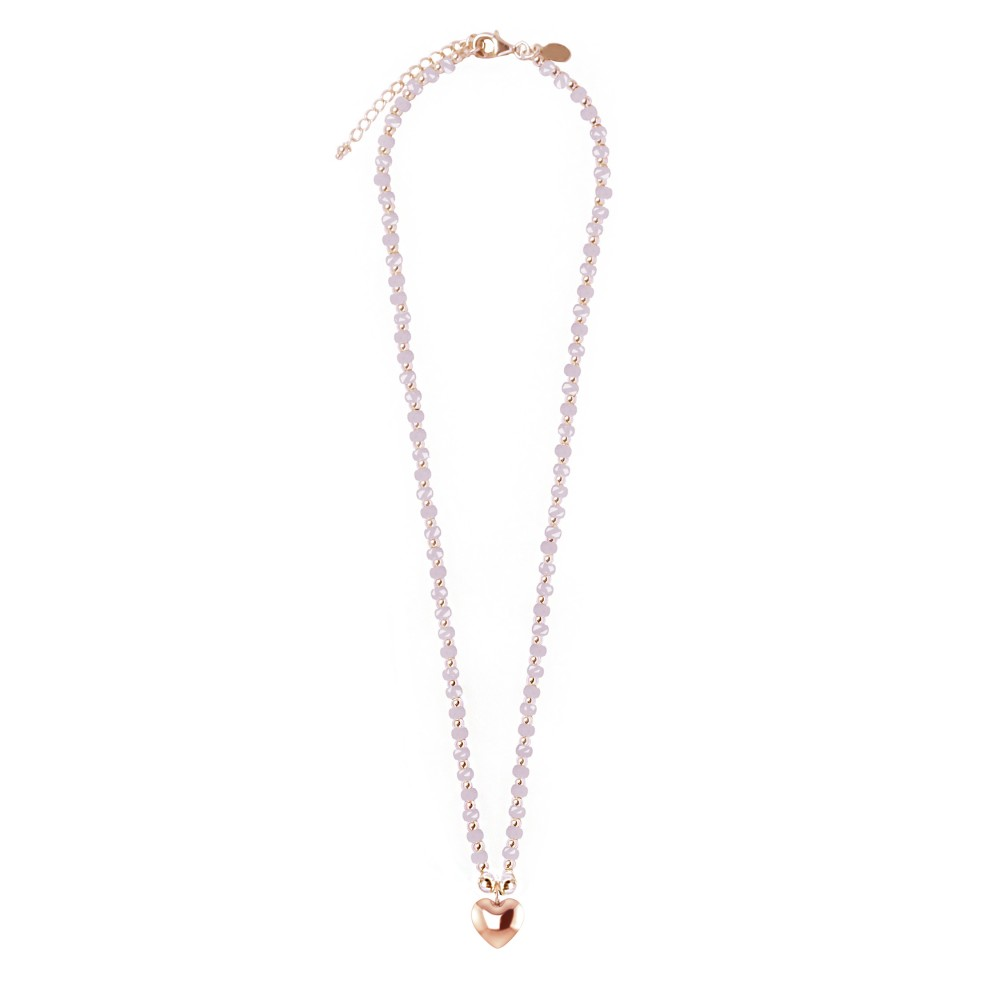 lolabean products necklace ball crystal