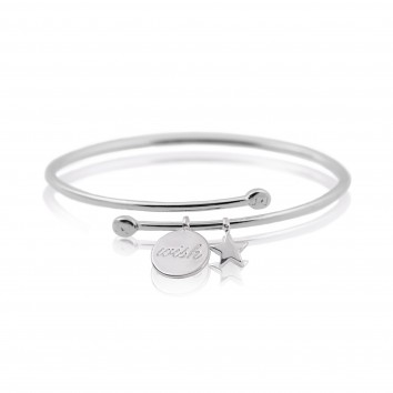 Joma Jewellery Story Bangle Wish