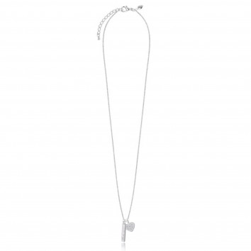 Joma Jewellery Love & Wish Bar Necklace - Heart