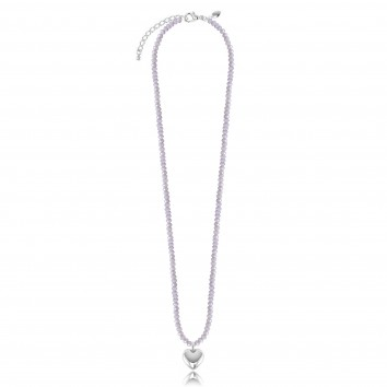 Joma Jewellery Matilda Crystal Necklace - Light