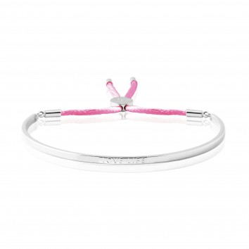 Joma Jewellery Love Life Message Bangle