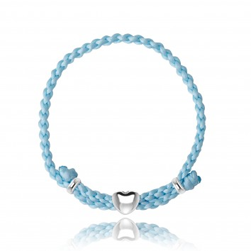 Joma Jewellery Luella Friendship Bracelet Cornflower Blue