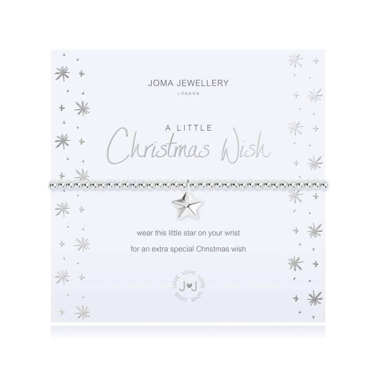 Joma Jewellery A Little Christmas Wish Bracelet