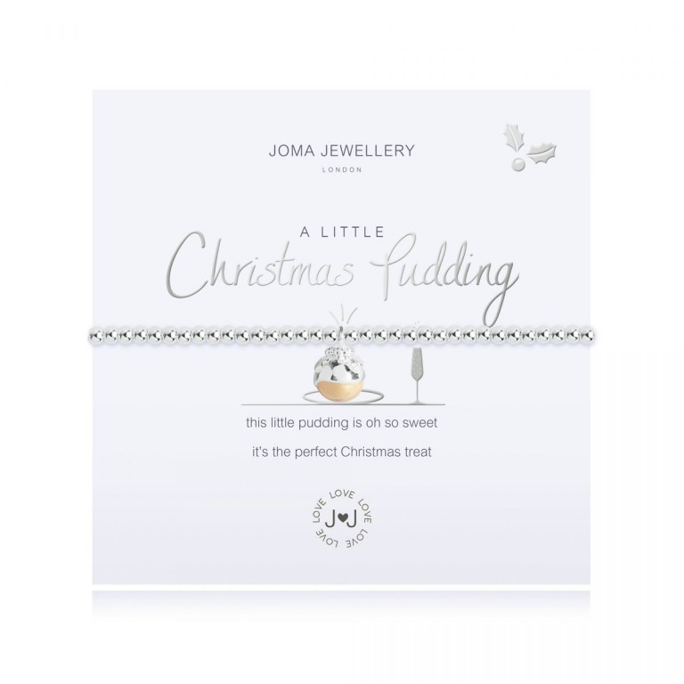 Joma Jewellery A Little Christmas Pudding Bracelet