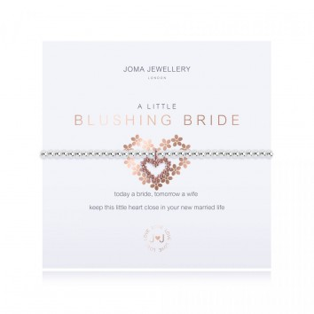 Joma Jewellery A Little Blushing Bride Bracelet