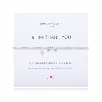 Joma Jewellery A Little Thank You Bridesmaid