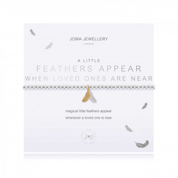 Joma Jewellery A Little Feathers Appear When Loved Ones Are Near Bracelet