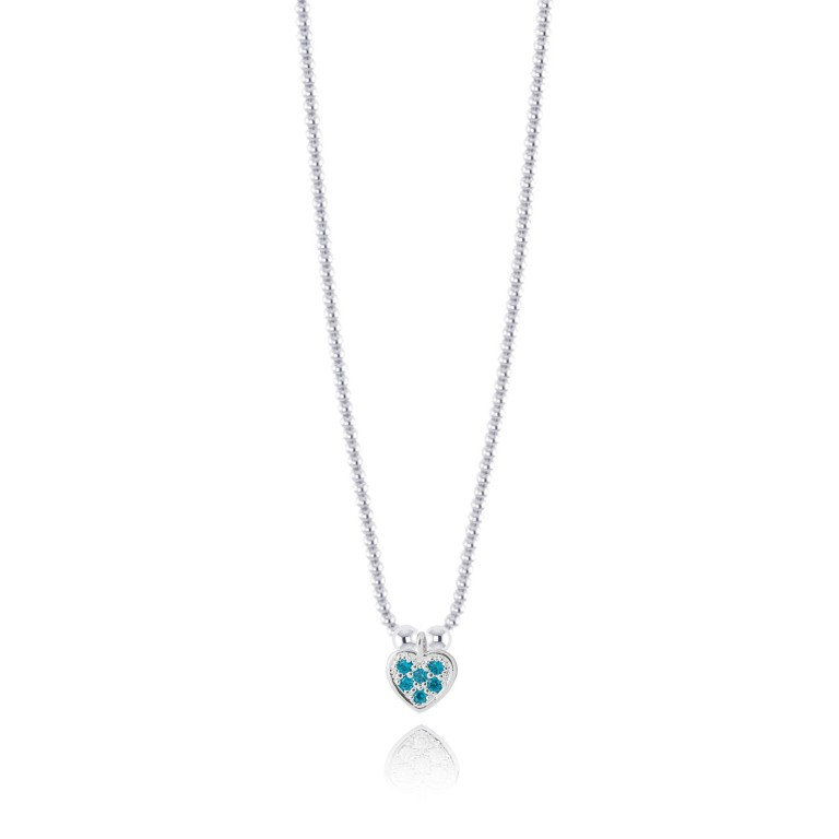 Joma Jewellery Girls Belle Necklace - Blue