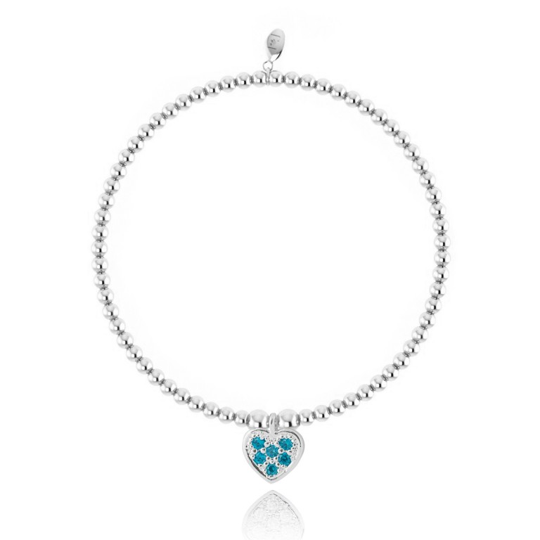 Joma Jewellery Girls Belle Bracelet - Blue