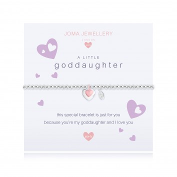Joma Jewellery Girls A Little Goddaughter Bracelet
