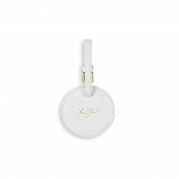 Katie Loxton XOXO Circle Luggage Tag