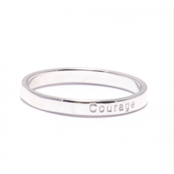 Synergy Jewellery Affirmation Ring - Courage