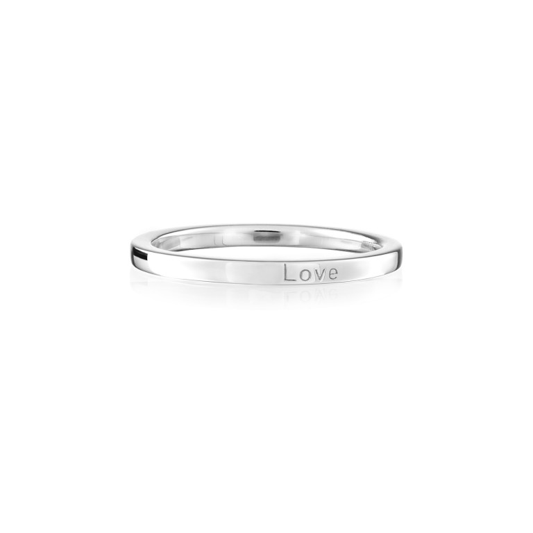 Synergy Jewellery Affirmation Ring - Love