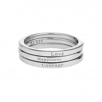 Synergy Jewellery 3 Stacking Rings