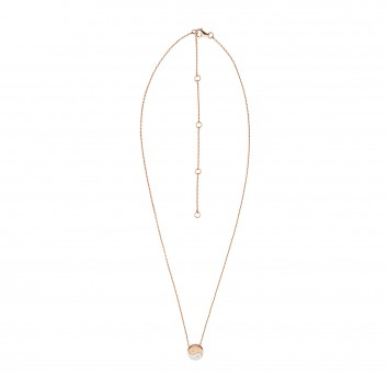 Synergy Jewellery Yin Yang Necklace Rose Gold