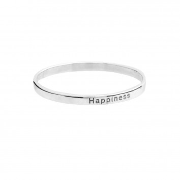 Synergy Jewellery Affirmation Ring - Happiness