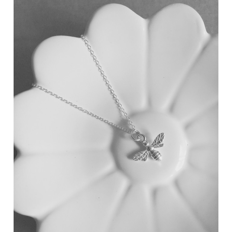The Keepsake Bee Charm Necklace