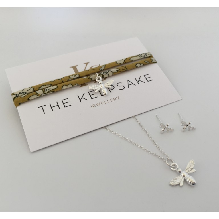 The Keepsake Sterling Silver Bee Gift Set